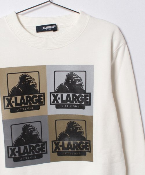XLARGE KIDS(エクストララージ キッズ)/OGゴリラブロックプリントトレーナー/9474214_img02