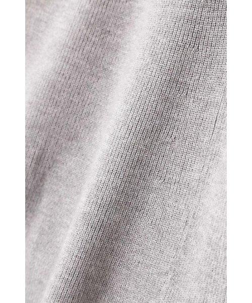 PROPORTION BODY DRESSING(プロポーション ボディドレッシング)/刺繍Vリブカーデニットアップワンピース/1217240510_img01