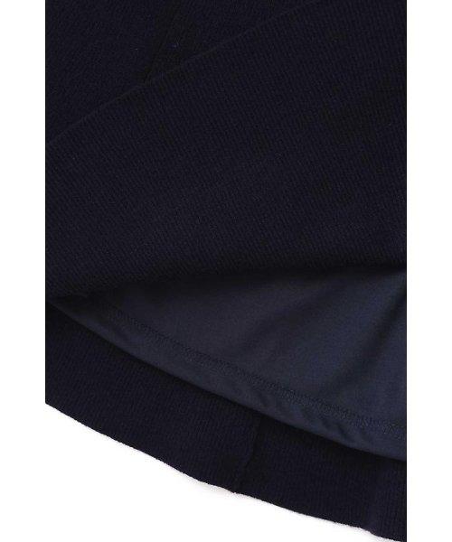 PROPORTION BODY DRESSING(プロポーション ボディドレッシング)/刺繍Vリブカーデニットアップワンピース/1217240510_img11