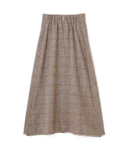 PROPORTION BODY DRESSING(プロポーション ボディドレッシング)/《BLANCHIC》チェックツィードスカート/1217229103_img01