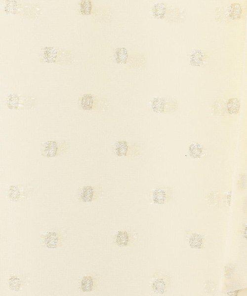 Ravissant Laviere(ラヴィソンラヴィエール)/ドットラメカットジャガードボウタイブラウス/7-0033-7-01-001_img06
