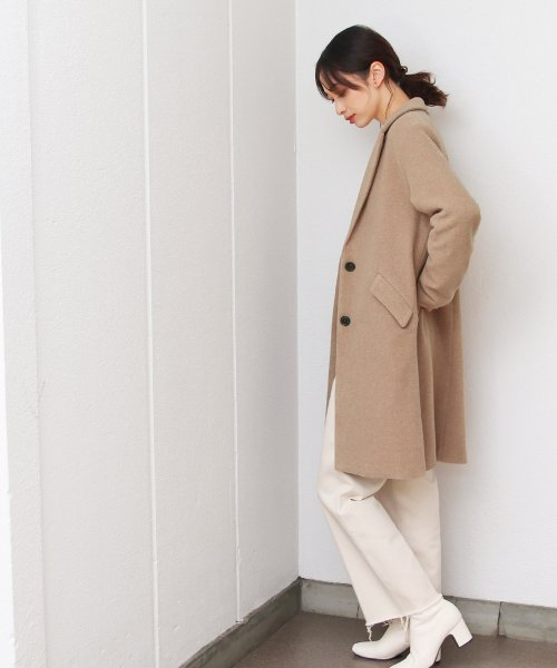 SocialGIRL(ソーシャルガール)/セミロング丈チェスターコート/145512-41_img02