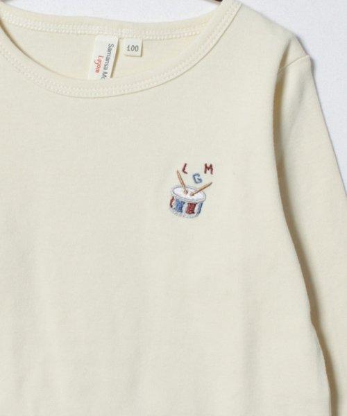 LAGOM(ラーゴム)/スムース刺繍カットソー/1206174421411_img02