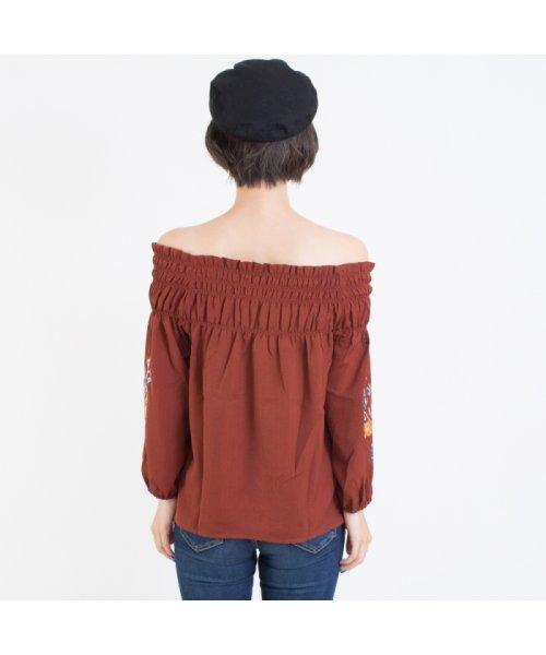 SpRay(スプレイ)/袖刺繍5分袖オフショル/017110139317_img02