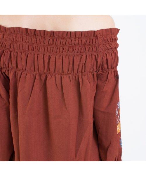 SpRay(スプレイ)/袖刺繍5分袖オフショル/017110139317_img03