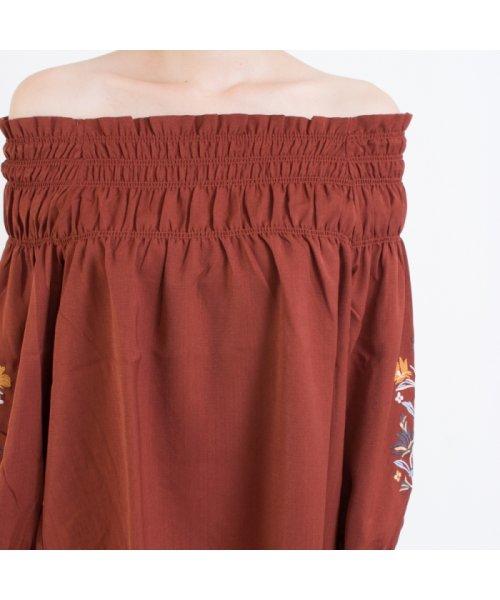 SpRay(スプレイ)/袖刺繍5分袖オフショル/017110139317_img04