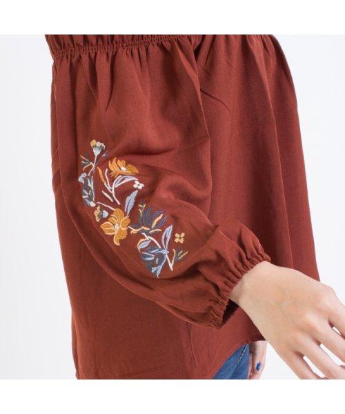 SpRay(スプレイ)/袖刺繍5分袖オフショル/017110139317_img05