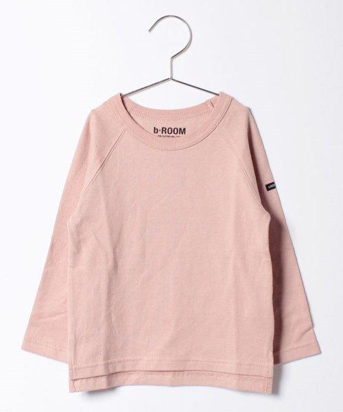 b-ROOM(ビールーム)/ラグラン長袖Tシャツ/9873290_img07