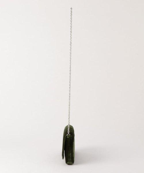 NOLLEY'S(ノーリーズ)/【Anna Cecere/アンナ チュチュレ】 ベロアチェーンショルダーバッグ/7-0150-5-12-133_img01