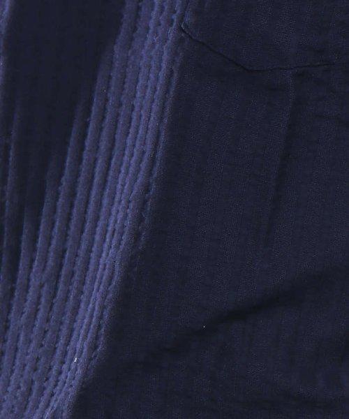 ABAHOUSE(ABAHOUSE)/鹿の子サッカーストライプVネックTシャツ/00341021204_img09