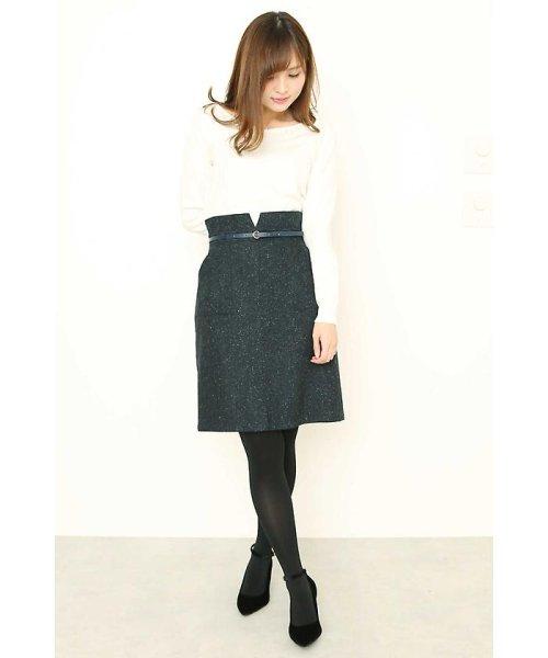 PROPORTION BODY DRESSING(プロポーション ボディドレッシング)/ネップツィードタイトスカート/1218120002_img09
