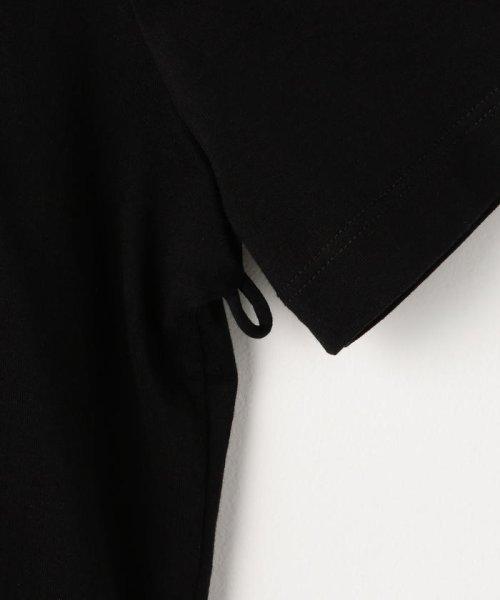 NOLLEY'S sophi(ノーリーズソフィー)/【MM6 Maison Margiela/エムエム 6 メゾン マルジェラ】布帛コンビチュニックTee/70211103005_img05