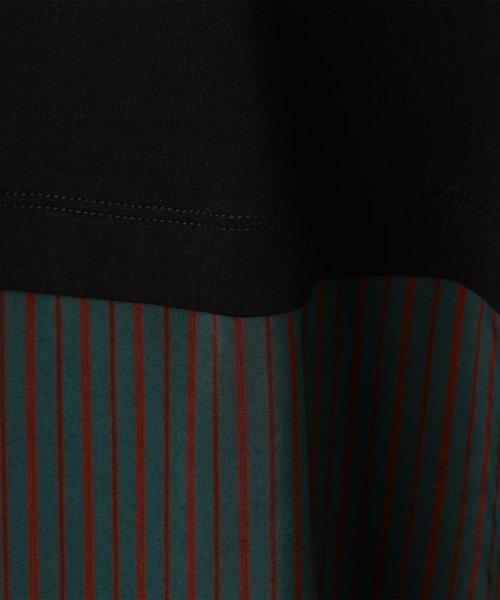 NOLLEY'S sophi(ノーリーズソフィー)/【MM6 Maison Margiela/エムエム 6 メゾン マルジェラ】布帛コンビチュニックTee/70211103005_img10