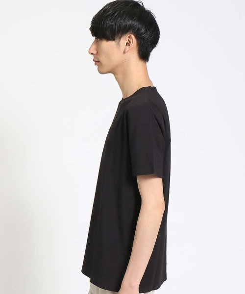 ABAHOUSE(ABAHOUSE)/【COTTON LYCRA】圧着クルーネックTシャツ/00340021010_img02