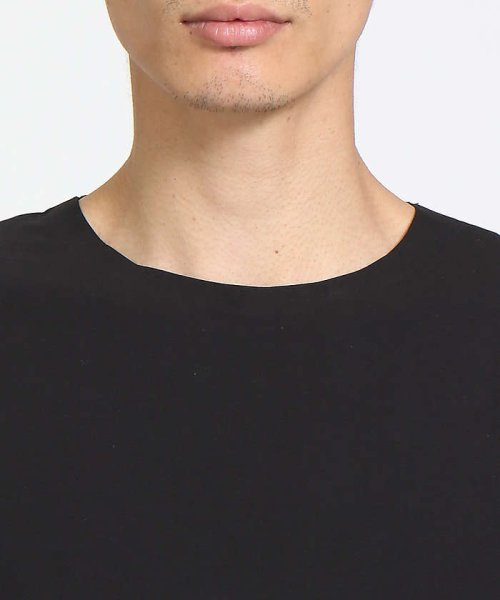 ABAHOUSE(ABAHOUSE)/【COTTON LYCRA】圧着クルーネックTシャツ/00340021010_img04