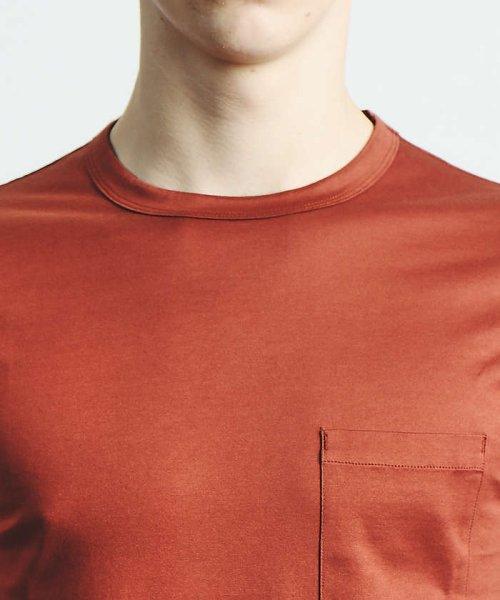 ABAHOUSE(ABAHOUSE)/幾何学柄シルケットTシャツ/00350021048_img06