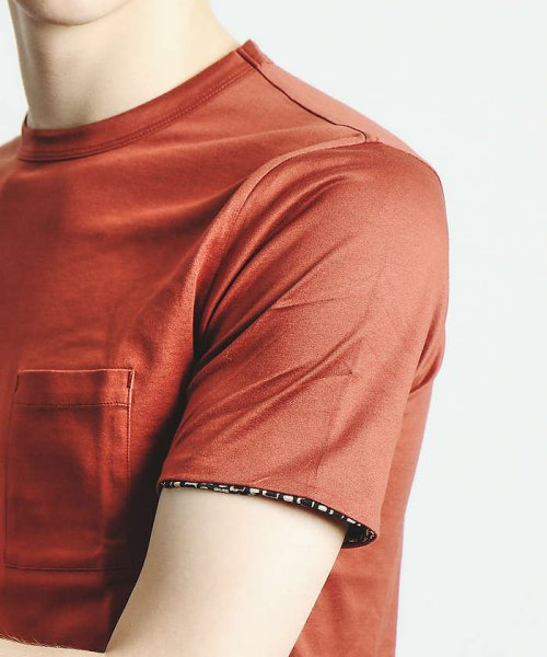 ABAHOUSE(ABAHOUSE)/幾何学柄シルケットTシャツ/00350021048_img08