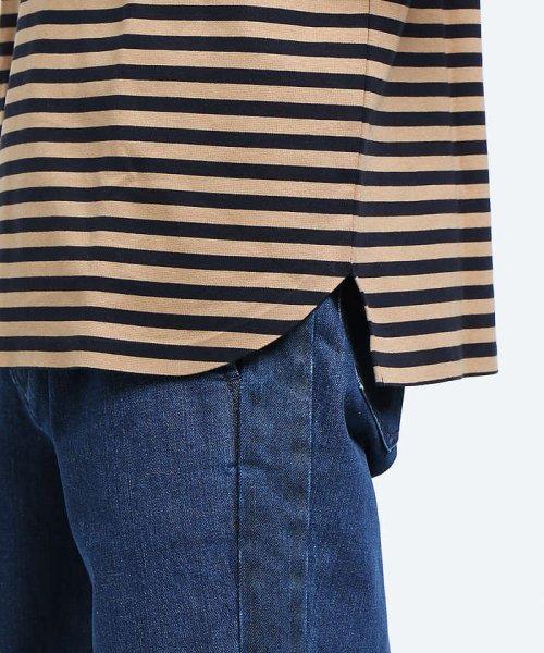 ABAHOUSE(ABAHOUSE)/【WEB別注】圧着ポンチボーダーポケットTシャツ/00355021104_img08