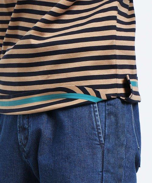 ABAHOUSE(ABAHOUSE)/【WEB別注】圧着ポンチボーダーポケットTシャツ/00355021104_img09