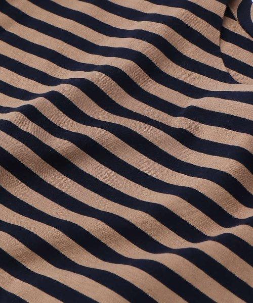 ABAHOUSE(ABAHOUSE)/【WEB別注】圧着ポンチボーダーポケットTシャツ/00355021104_img12