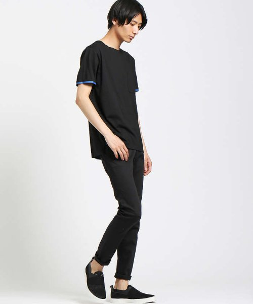 ABAHOUSE(ABAHOUSE)/【WEB別注】圧着クルーネック ポケットTシャツ/00355021105_img03