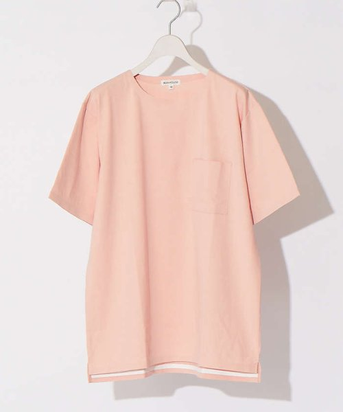 ABAHOUSE(ABAHOUSE)/【WEB別注】圧着クルーネック ポケットTシャツ/00355021105_img07