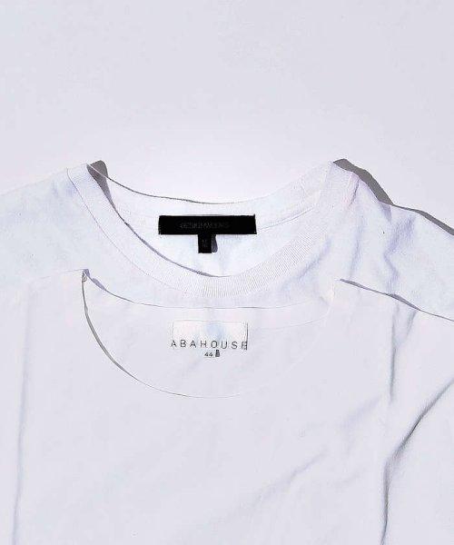 ABAHOUSE(ABAHOUSE)/【WEB別注】圧着クルーネック ポケットTシャツ/00355021105_img16