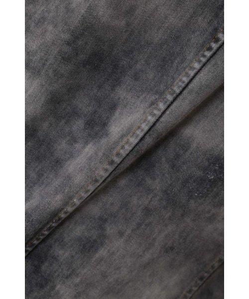 TORNADO MART(トルネードマート)/TORNADO MART∴グランジコーティングデニムシャツブルゾン/6318915002_img02