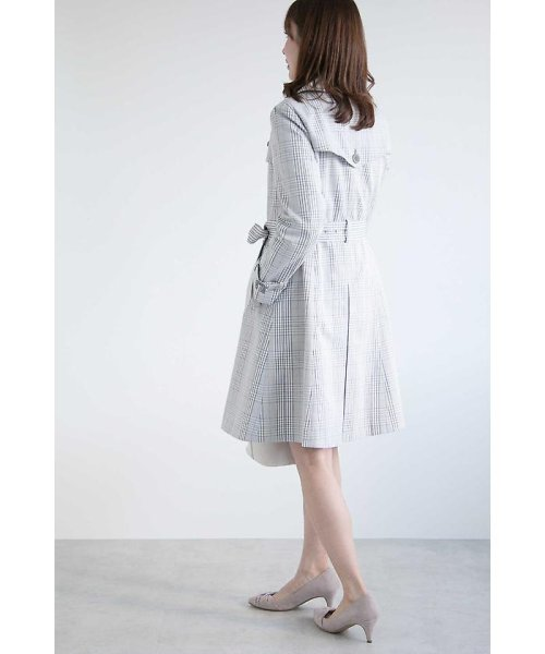 PROPORTION BODY DRESSING(プロポーション ボディドレッシング)/チェックトレンチコート/1218152201_img03