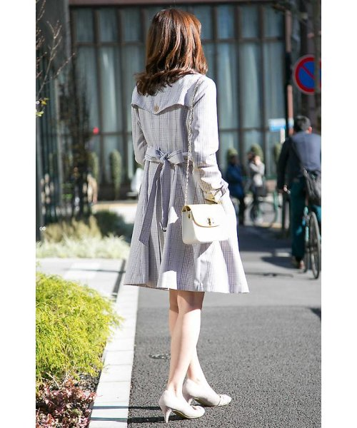 PROPORTION BODY DRESSING(プロポーション ボディドレッシング)/チェックトレンチコート/1218152201_img08