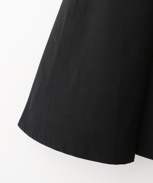 Ray Cassin (レイカズン)/リボン付きタックフレアスカート/182221050_img05