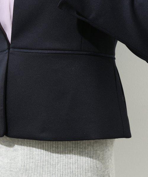 ROPE'(ロペ)/【セットアップ対応】グログランTネックジャケット/GGV2810_img08