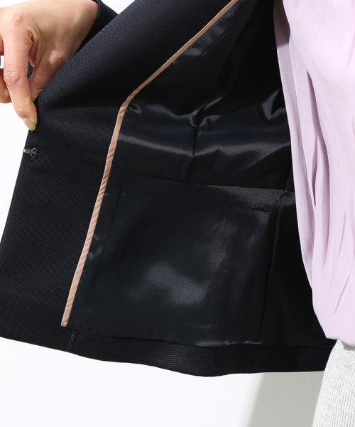 ROPE'(ロペ)/【セットアップ対応】グログランTネックジャケット/GGV2810_img10
