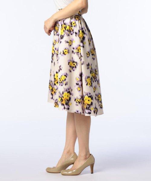 NOLLEY'S(ノーリーズ)/ぼかしフラワープリントスカート/8-0035-1-06-003_img02