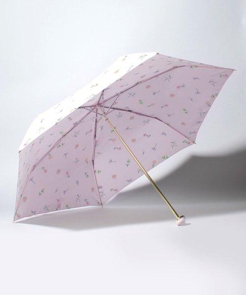 pink trick(ピンクトリック)/BE SUNNY ビーサニー 3段折りたたみ傘  ガーデン (晴雨兼用 UV 紫外線カット  耐風 軽量 撥水)/87289_img01