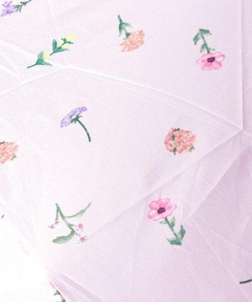 pink trick(ピンクトリック)/BE SUNNY ビーサニー 3段折りたたみ傘  ガーデン (晴雨兼用 UV 紫外線カット  耐風 軽量 撥水)/87289_img04