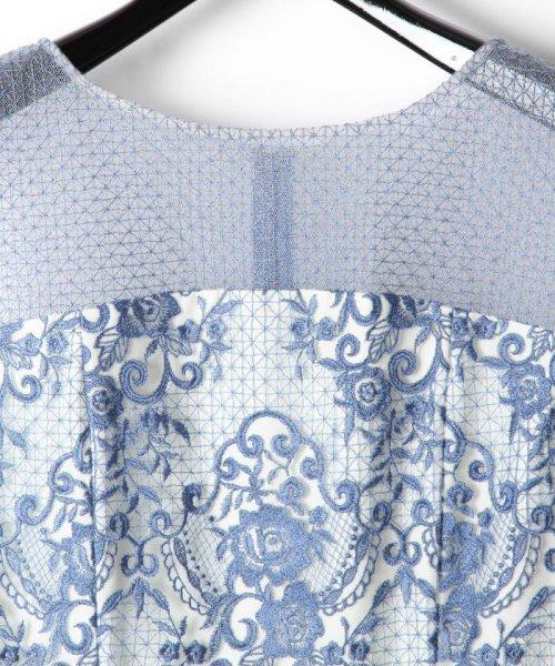 GRACE CONTINENTAL(グレースコンチネンタル)/チュールレース刺繍タイトワンピース/38135060_img01