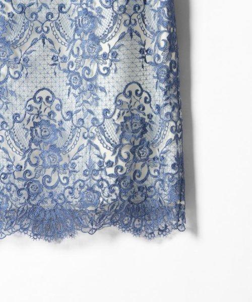GRACE CONTINENTAL(グレースコンチネンタル)/チュールレース刺繍タイトワンピース/38135060_img02