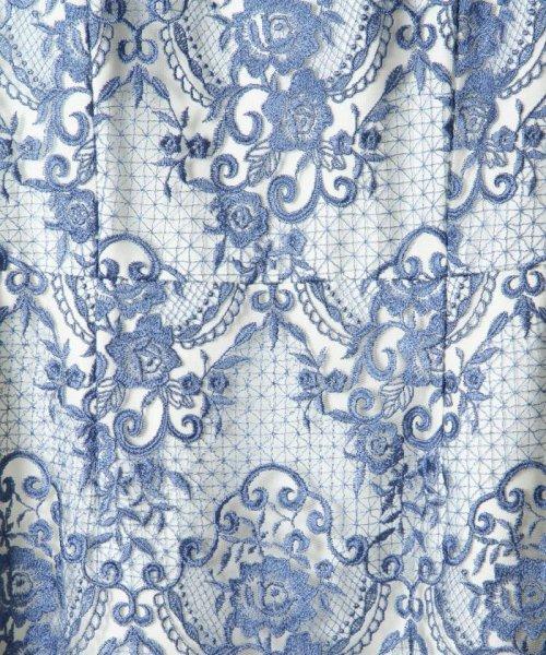 GRACE CONTINENTAL(グレースコンチネンタル)/チュールレース刺繍タイトワンピース/38135060_img03