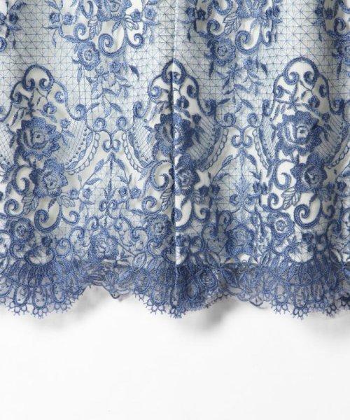 GRACE CONTINENTAL(グレースコンチネンタル)/チュールレース刺繍タイトワンピース/38135060_img04