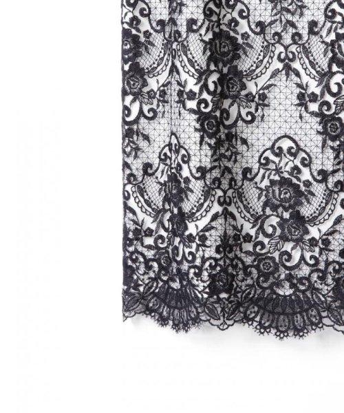 GRACE CONTINENTAL(グレースコンチネンタル)/チュールレース刺繍タイトワンピース/38135060_img08