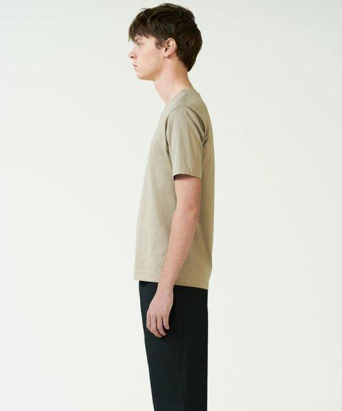TOMORROWLAND MENS(TOMORROWLAND MENS)/スヴィンジャージー VネックTシャツ/63118211101_img01