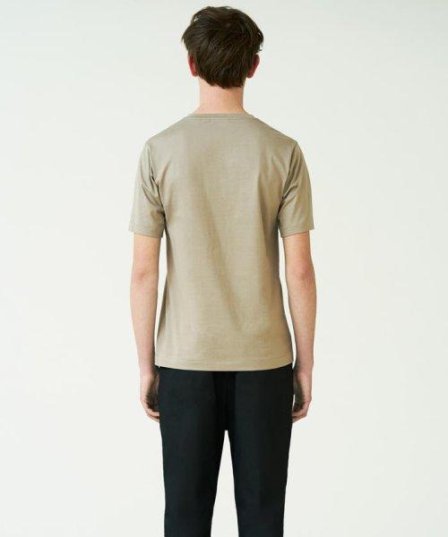 TOMORROWLAND MENS(TOMORROWLAND MENS)/スヴィンジャージー VネックTシャツ/63118211101_img02