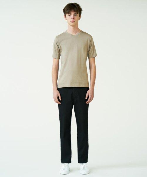 TOMORROWLAND MENS(TOMORROWLAND MENS)/スヴィンジャージー VネックTシャツ/63118211101_img03