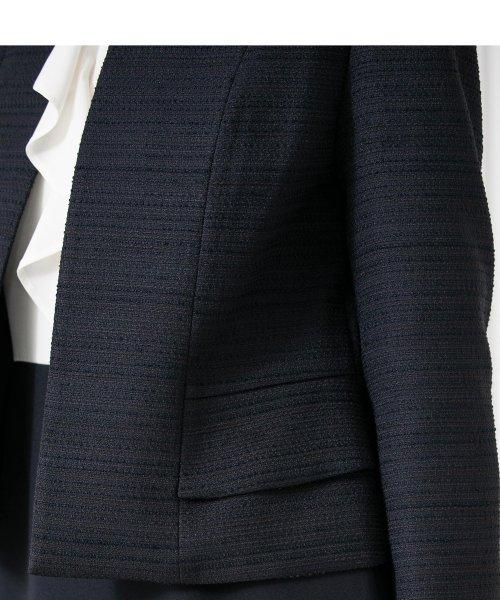 form forma(フォルムフォルマ)/【卒業式・入学式・セレモニー・七五三対応】ノーカラーツイードジャケット/0410732_img06