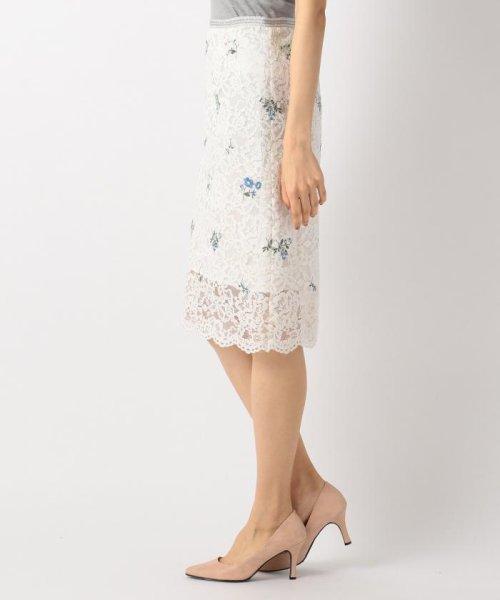 洗える クラフトレース スカート kumikyoku large size 組曲 大きい