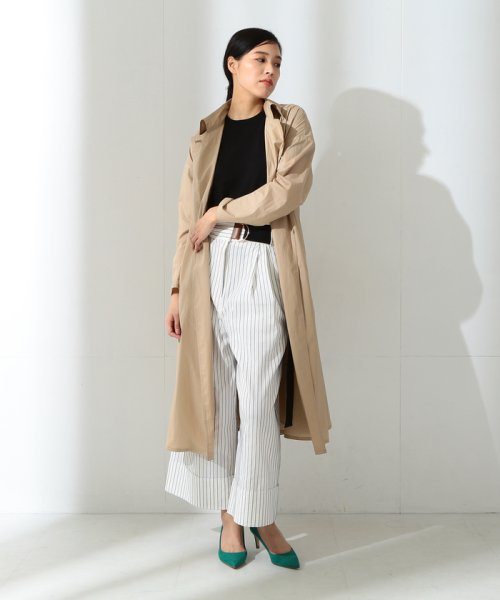 BEAMS OUTLET(ビームス アウトレット)/【Oggi10月号掲載】Demi−Luxe BEAMS / コーティングトレンチコート/68190126002_img01