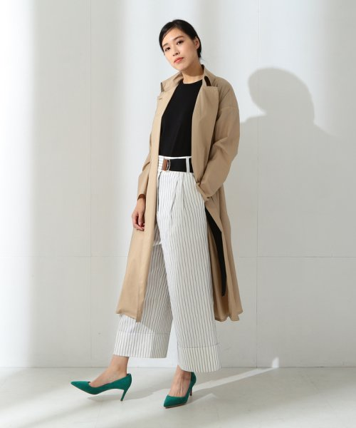 BEAMS OUTLET(ビームス アウトレット)/【Oggi10月号掲載】Demi−Luxe BEAMS / コーティングトレンチコート/68190126002_img02