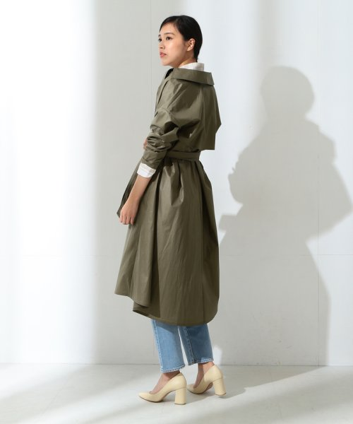 BEAMS OUTLET(ビームス アウトレット)/【Oggi10月号掲載】Demi−Luxe BEAMS / コーティングトレンチコート/68190126002_img04