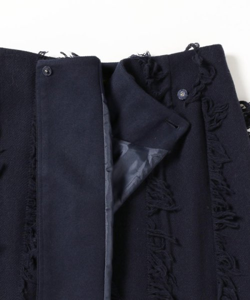 BEAMS OUTLET(ビームス アウトレット)/Demi-Luxe BEAMS / フリンジ ラップスカート/68270327489_img05
